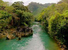 Rio Cahabon - read about adventure travel in Guatemala: http://travelblog.viator.com/adventure-destinations-in-guatemala/