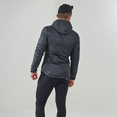 Fitted Sector Puffer Jacket   Padded Jacket   Gymshark