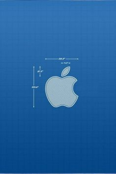 Blueprint of iphone pinteres apple blueprint iphone hd wallpaper malvernweather Gallery