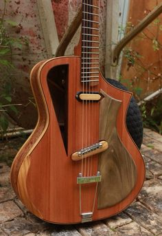 "Electro acoustic guitar Handmade Luthier fanned fret ""Raulo"""