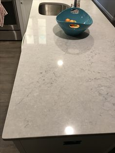 Ceasarstone in Noble Grey. I love it!!