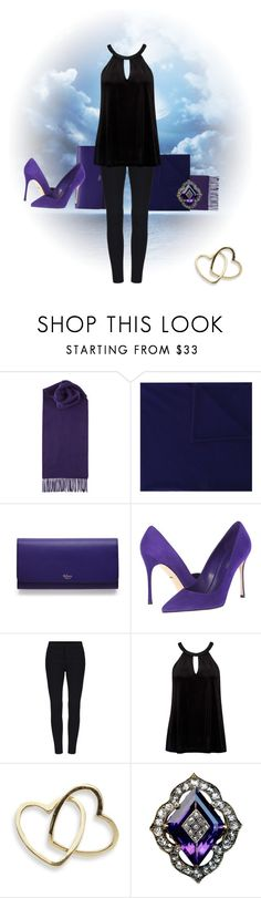 """""""Moonlight Romance"""" by my-style-xo ❤ liked on Polyvore featuring Johnstons of Elgin, Extreme Cashmere, Mulberry, Sergio Rossi, Forever New, Loquet and contest"""
