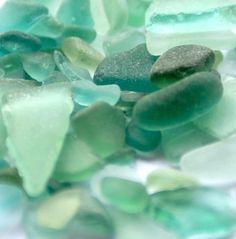 Beautiful seafoam green/blue sea glass