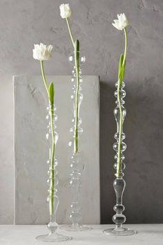 Deko Blumenvase kreative Dekoartikel Wohnaccessoires Glasvasen Design