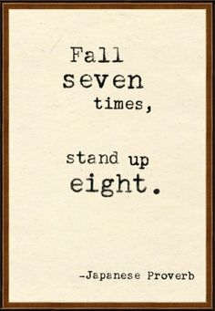 everyone trips up and falls, just try to fall forward( something my mother once told me)...kpc