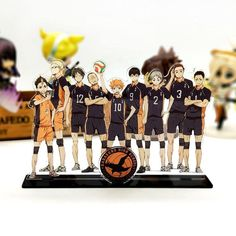 Cute anime volleyball Haikyuu acrylic standee. Anime Acrylic Standees are the perfect way to collect and display all of your favorite anime characters. Buy now! Hinata, Haikyuu Karasuno, Kageyama Tobio, Haikyuu Characters, Anime Characters, Anime Figures, Boko No, Best Duos, Plate Holder