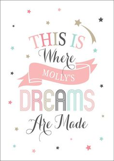 Pink Dreams Are Made Print