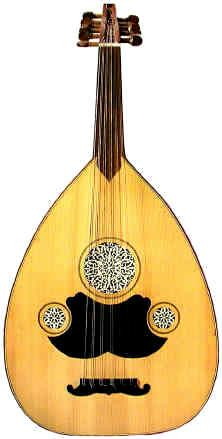 The Oud, a central instrument of Arabic music, is a stringed instrument with an ancient history. It probably originated over 3,500 year ago in Persia, where it was called a Barbat (oud).