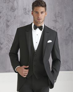 Freeman Formalwear Style 9718 Peak Lapel Tuxedo by Coppley.