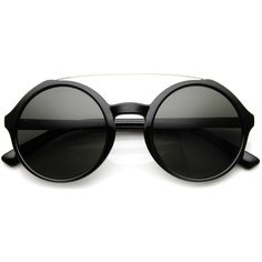 Retro Fashion Round Circle Steampunk Fashion Sunglasses 8935 (96 ARS) ❤ liked on Polyvore featuring accessories, eyewear, sunglasses, glasses, accessorize, round lens sunglasses, rounded sunglasses, steampunk sunglasses, retro glasses and round sunglasses