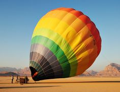 Hot Air Balloon Ride in Jordan