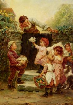 "http://www.fineartlib.info/plugins/p17_image_gallery/images/8/2355.jpg ""Grandfather's Birthday"" by Frederick Morgan"