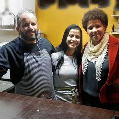 Sábado foi dia de jantar no @caminhonovobistro Parabéns Manuela e William pelo sanduíche de pernil 1 lugar no #sweetgrape receitas premiadas  #miguelpereira #instafood #comidadebistro