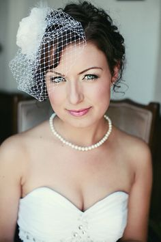 FAB FORTIES birdcage veil 60$ from: Vintage Pearl, Illinois