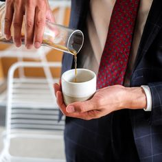Taking on the Monday hustle with coffee from @_toldyouso // @paradigm.studio . Whats your choice?  Filter or Espresso? // Men's Fashion Style and Travel Blog - http://ift.tt/29K1GdU