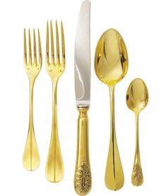 talheres de ouro - Pesquisa Google