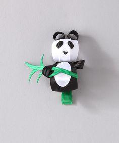 Bubbly Bows Panda Hair Clip | zulily