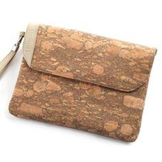 "100% organic cork fabric bags by ""Colle'cte"" aka Tal Drori and Asaf Shem-Tov."