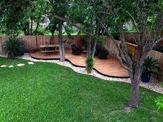 Hinterhof-Landschaftsbau-Ideen mit minimalem Budget 04 Dirt Push Backyard Landscaping Ideas On A Bud Large Backyard Landscaping, Backyard Ideas For Small Yards, Backyard Seating, Small Backyard Landscaping, Modern Landscaping, Landscaping Ideas, Patio Ideas, Backyard Kids, Small Pergola