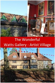 Watts Gallery - Artists' Village in Compton, Surrey, England: Victorian art and history at the former home of G F Watts and Mary Watts Solo Travel, Travel Tips, Travel Ideas, Circular Buildings, London Architecture, Adventure Activities, Amazing Destinations, Travel Destinations, Travel Couple