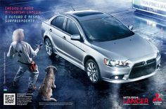 printed advertising of 2012 Mitsubishi Lancer