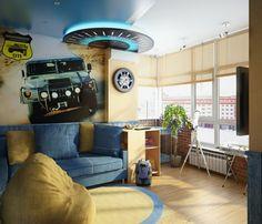 ideen fürs jugendzimmer junge auto thema reifen auto tapete