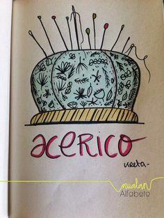 nualan: Diccionario ilustrado: A de Acerico