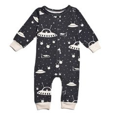 Winter Water Factory Outer Space Jumpsuit - Organic French Terry – Wild Dill