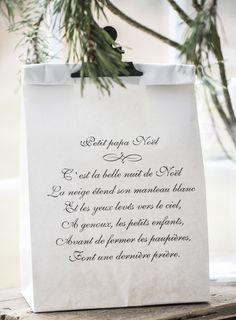 Juleindpakning - Ib Laursen - Papirposer - Dokumentsnor - Jutegarn - Fransk tekst - FRANSK