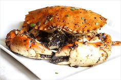 Black pepper crab, one of my absolute favorite dishes, I cant wait until I can try it on my own.