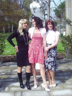 Claudia, Tini und Tina
