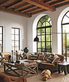 Alfredo Paredes, Architectural Digest - windows and ceiling