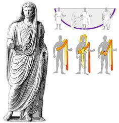 thefabulousmomo:  How to wear a roman toga. This MAY come in handy some day!