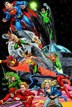 Justice League of America - Satelite era (70s/80s)