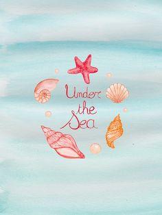 under the sea illustration - wallpaper
