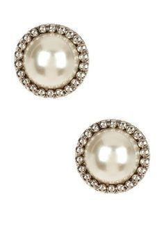 Faux Pearl Antique Earrings by Regal jewelry Inc. on @HauteLook