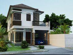Modern house design plans philippines - House and home design Small House Design, Modern House Design, Home Design Plans, Home Interior Design, Philippines House Design, Philippine Houses, Facade House, Small House Plans, Model Homes