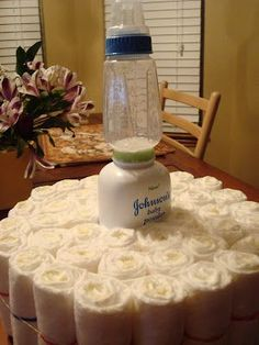 susiestampalot: How to Make a Diaper Cake Clear directions using size 1 diapers