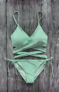 Set bikini da bagno blu Tiffany - Laétitia - #Bikini #Blu #Laetitia #Impostazione #Swimwear... #bagno #bikini #blu #Laétitia #Set #Swi #Tiffany