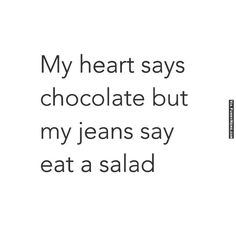 Funny memes Enough with the chocolate...