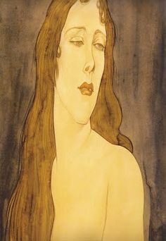 AUSTIN OSMAN SPARE - Great underrated portrait painter. Very eccentric chap. Was into esoteric huggery boo.