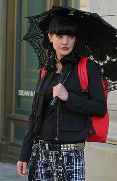 With you Pauley perrette bound and gagged something