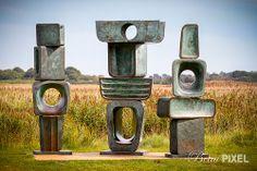 Outdoor Sculpture, Snape Maltings. Photo by Beau Pixel, via Flickr