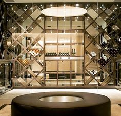 Wine wall experience / perfectly decorated