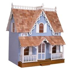 Greenleaf Arthur Dollhouse Kit - 1 Inch Scale - A long-time customer favorite, the Greenleaf Arthur Dollhouse Kit - 1 Inch Scale is a perfect starter set for the new collector. Its many classic feat...