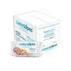 WaterWipes Lot de 12 boîtes économiques de lingettes bébé 720lingettes au total