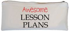 Awesome Lesson Plans Pencil Case