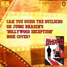 Guess the building on the ‪#‎BollywoodDeception‬ book cover?