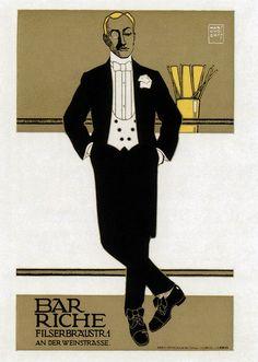 Hans Rudi Erdt. Bar Riche. 1907 by kitchener.lord, via Flickr
