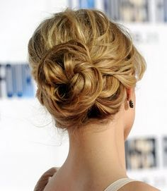 Updo hairstyles are an elegant choice to fight the heat of this scorching summer. We have rounded up the 5 coolest updo hairstyles choices for you Bun Hairstyles, Pretty Hairstyles, Wedding Hairstyles, Wedding Updo, Bridesmaids Hairstyles, Short Hairstyle, Wedding Hair And Makeup, Bridal Hair, Hair Makeup